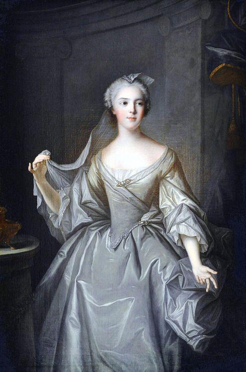 Jean-Marc Nattier (1685-1766): Madame Sophie of France as a Vestal Virgin, after 1748.