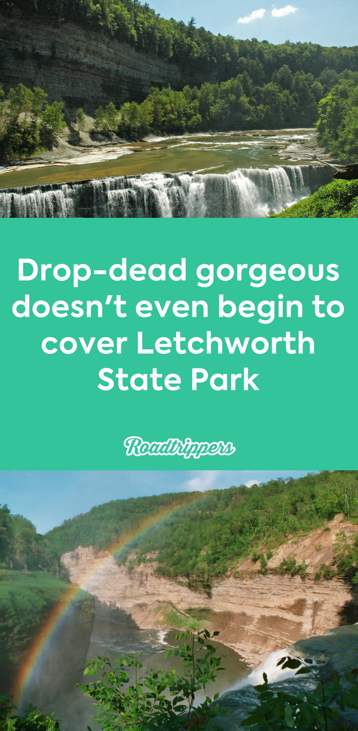 Drop-dead gorgeous doesn't even begin to cover Letchworth State Park #letchworthstatepark