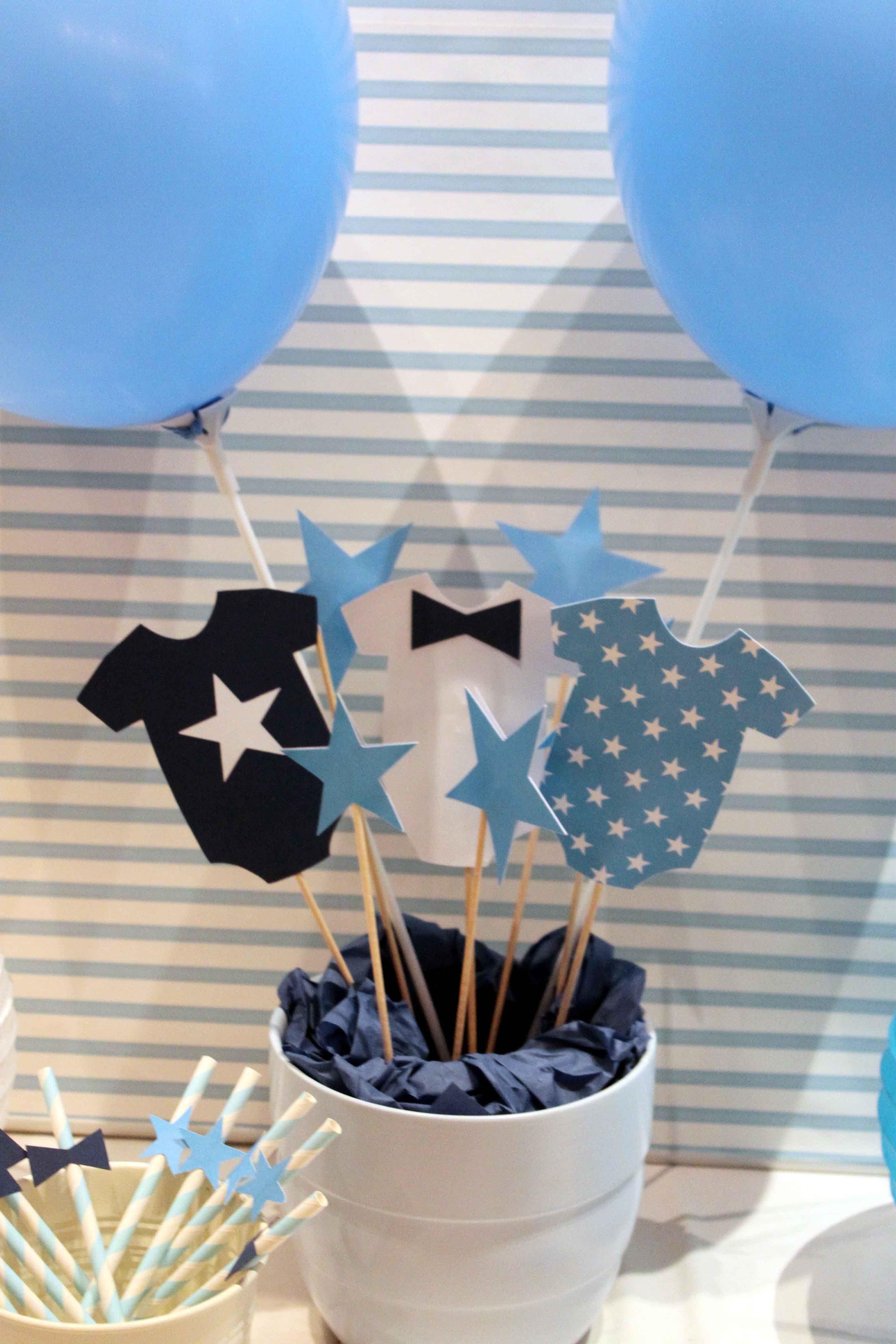 Centro De Mesa Para Baby Shower Varon Faciles : centro, shower, varon, faciles, Bautizo, No-ñoño, David, Centros, Niños,, Shower,, Decoraciones, Fiestas, Bebés