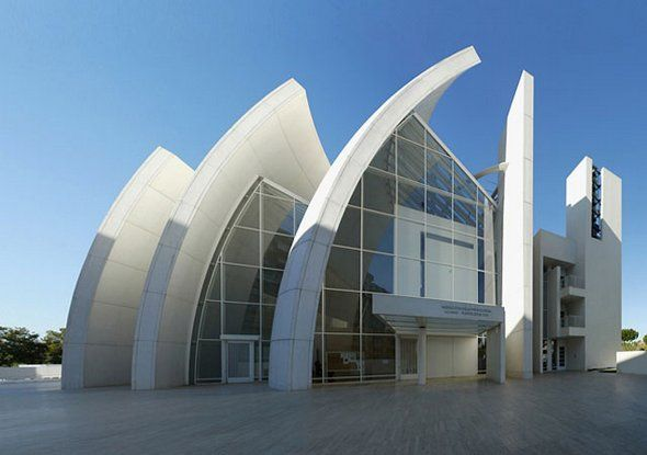 Modern Architecture Rome anyone know the architect?? location? thanks to caralina julian i