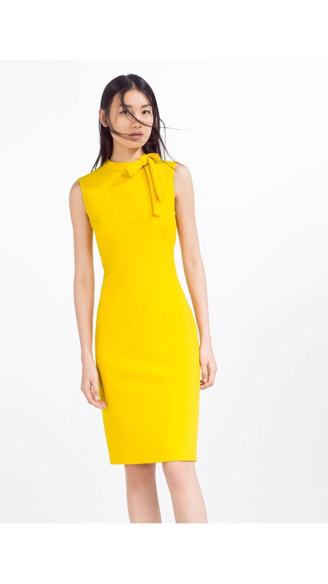 Zara Yellow Dress Tube Dress Celebrity Dresses White Tube Dress [ 2001 x 1125 Pixel ]