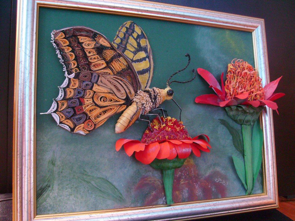 From Facebook: Art-Quilling glena
