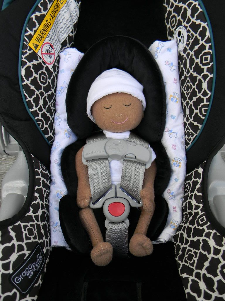 Preemie doll in SnugRide35 with new infant insert | Nursery ...