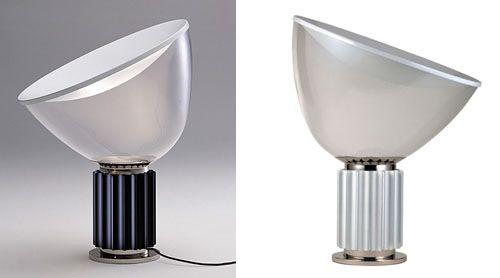 Part 201 Taccia Lamp Lamp Achille Castiglioni