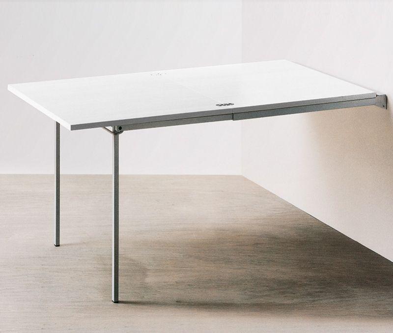 Tavolo Da Parete Richiudibile In Mensola.Tavolo Pieghevole A Muro Art Pallo Mobili Recchia Tavolo