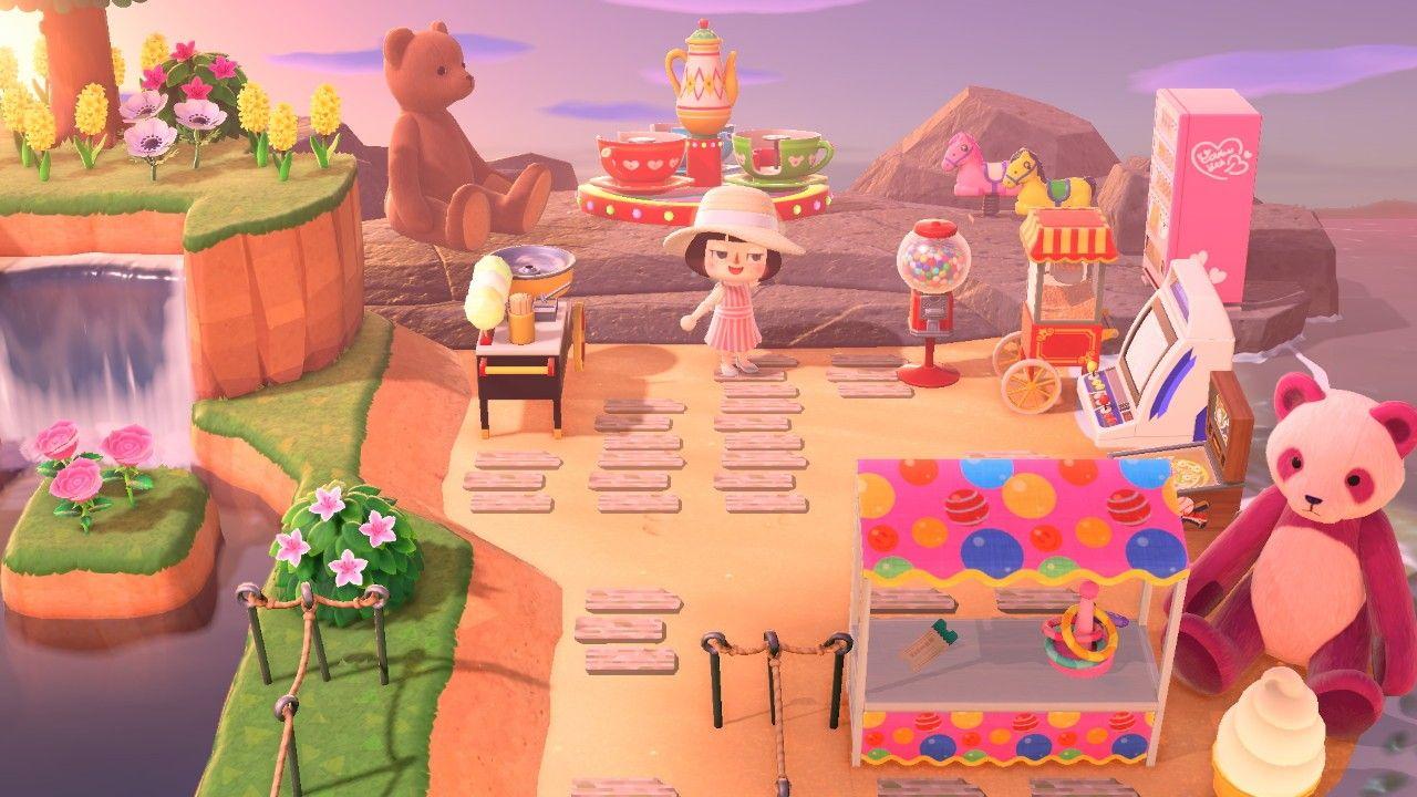 Animal Crossing Qr Codes Sand Playground