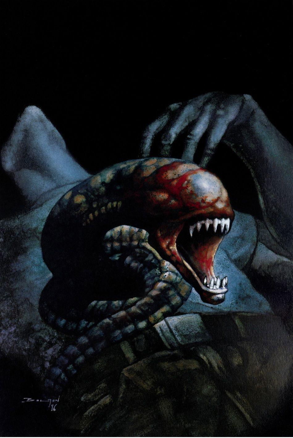 Pin on Alien and Predator