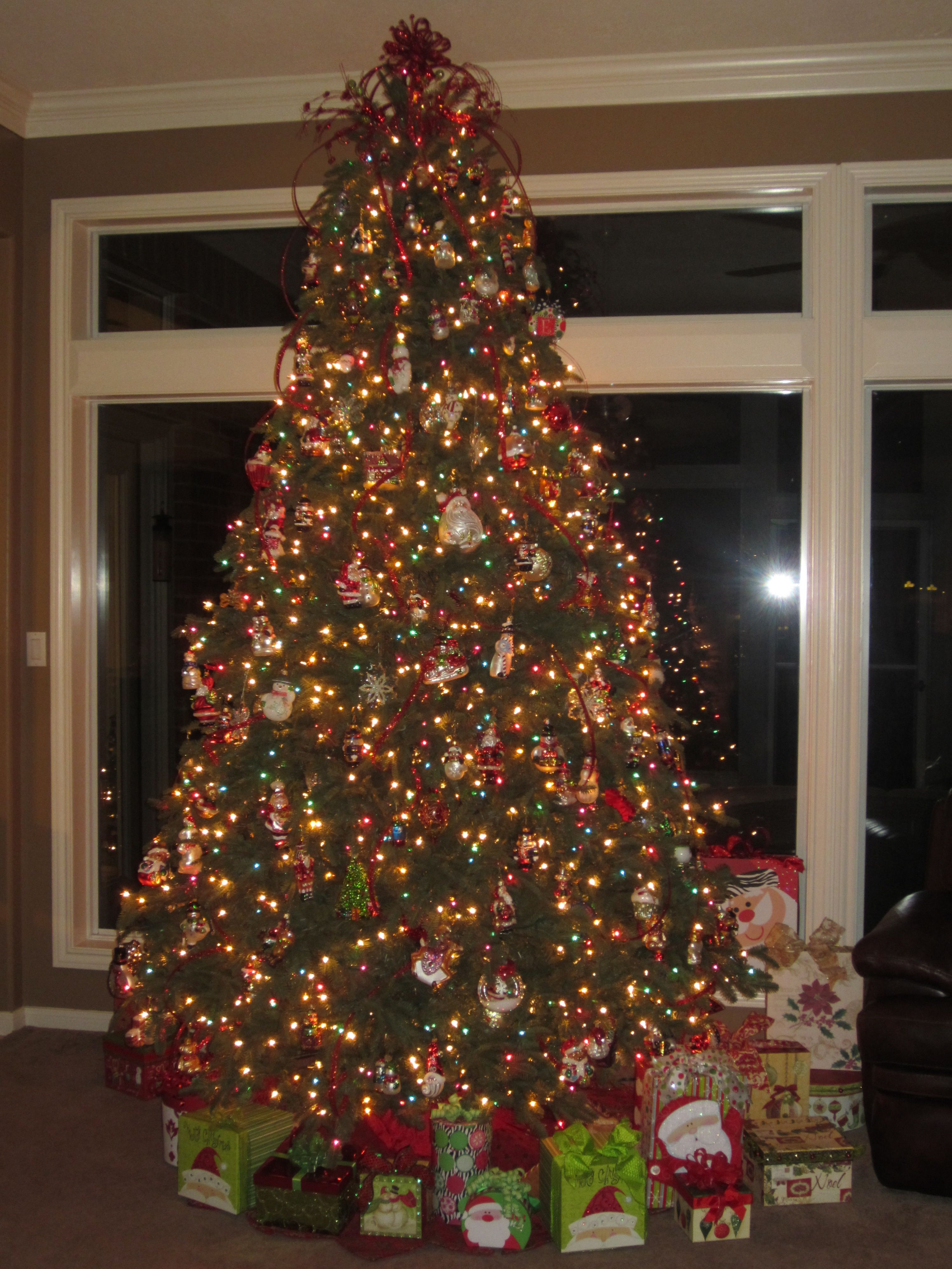 My Magnificent Balsam Hill Christmas Tree Surrounded by