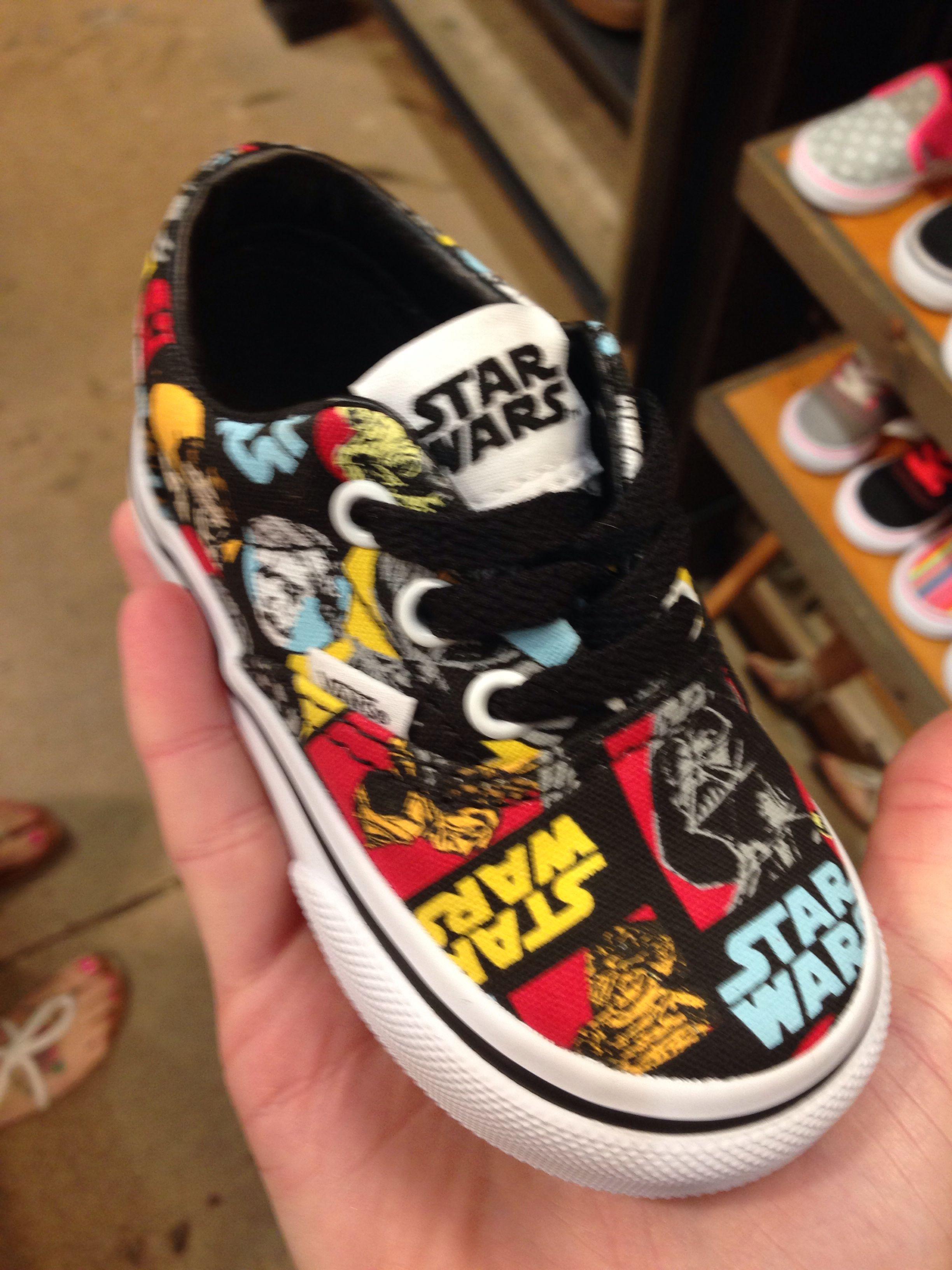Star Wars Vans for kids too cute