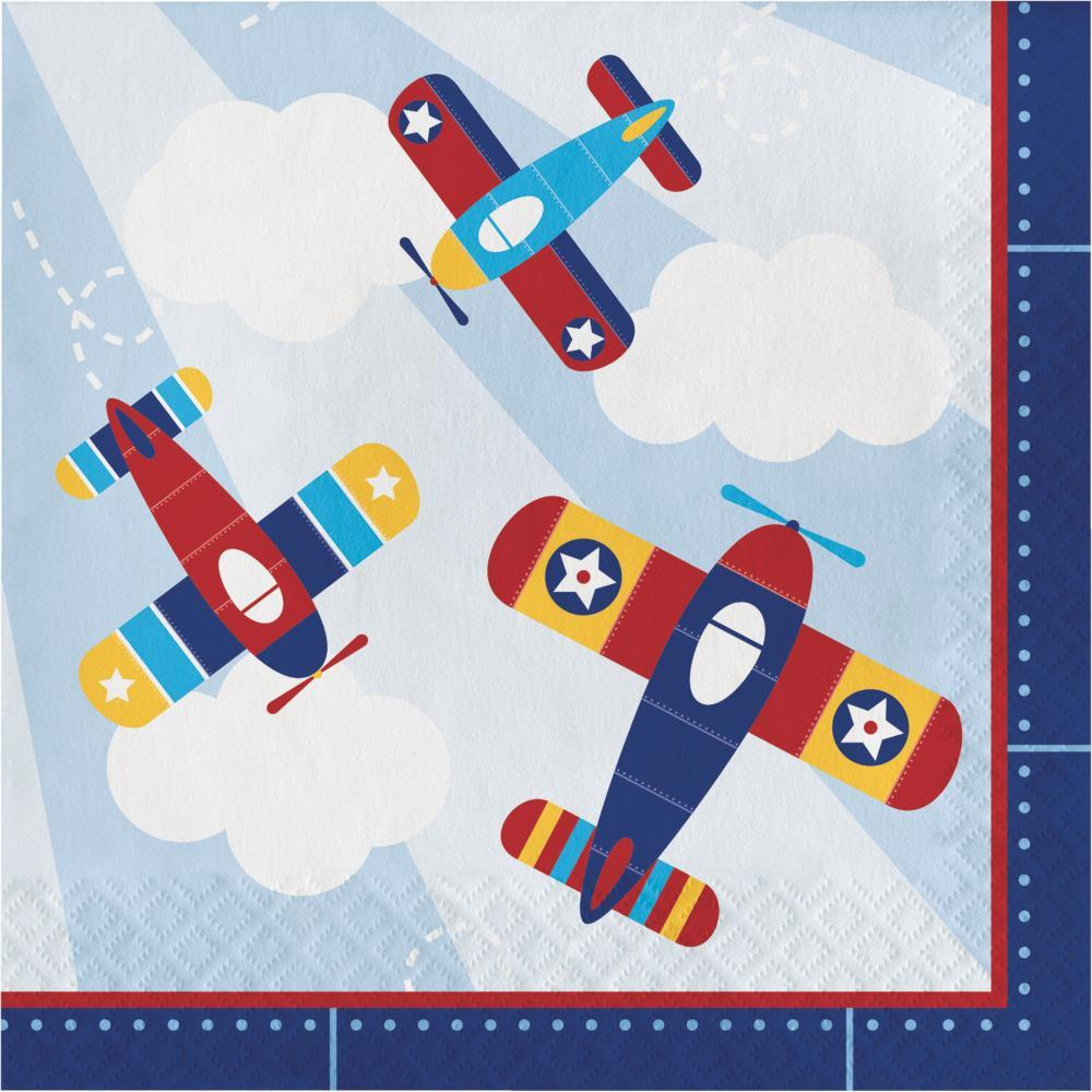 Lil Flyer Airplane Luncheon Napkin Case Pack Of 192 In 2018