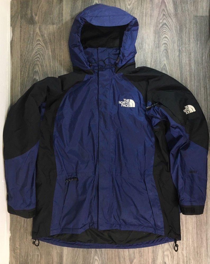 North Face Jacket 90s Vtg Gore Tex Mountain Supreme Parka Men S Xl Blue Coat Thenorthface Basicjacket North Face Jacket Jackets Vintage Jacket [ 1000 x 794 Pixel ]