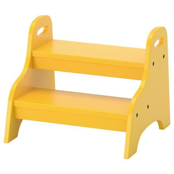 TROGEN Tritthocker für Kinder - gelb - IKEA Deutschland ...