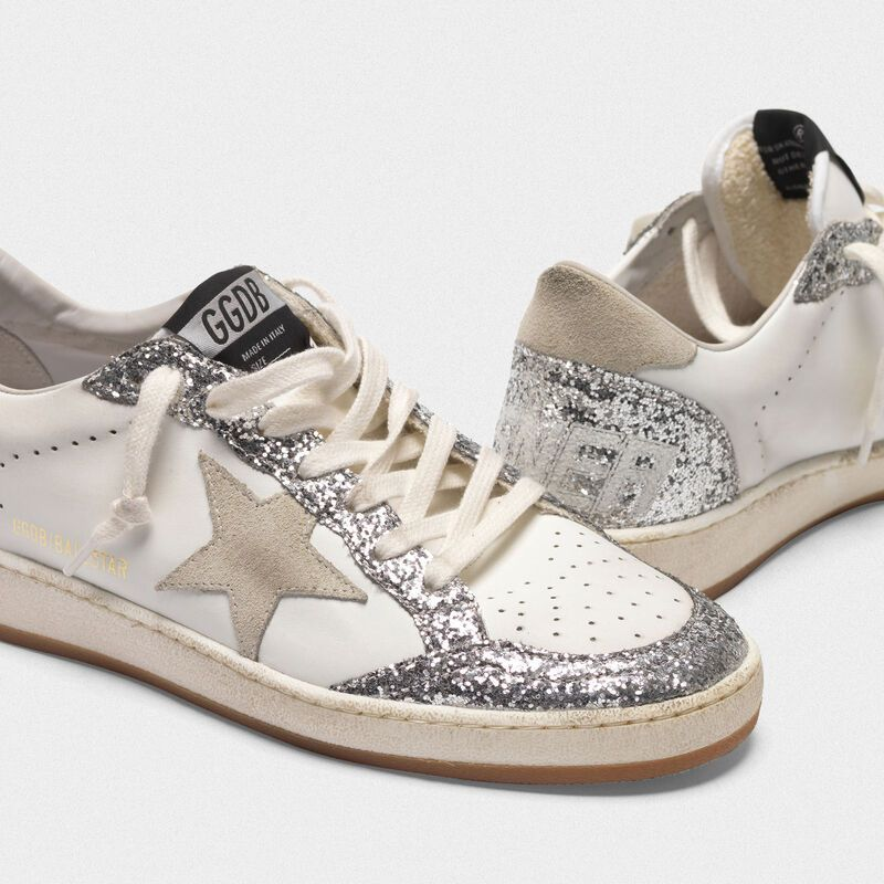 Ball Star sneakers in leather with