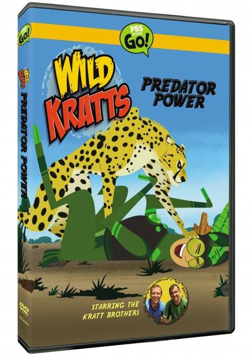 Wild Kratts Predator Power On DVD 3 20 Pbs Kids Tienda