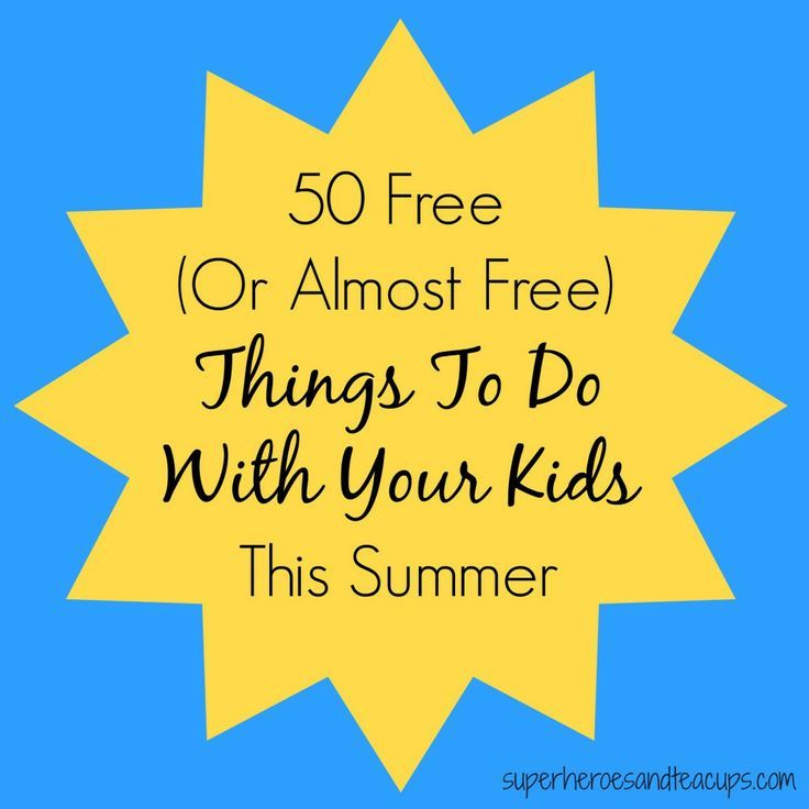50+ Summer Fun Activities For Families (With Images