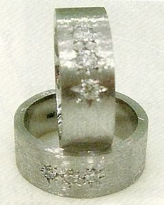 Nicole Kidman ad Keith Urban wedding rings by Pedro Brando A