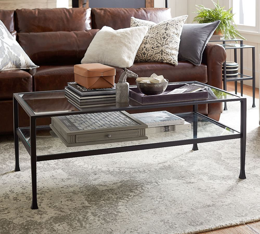Tanner 48 Rectangular Coffee Table Coffee Table Pottery Barn Rectangular Glass Coffee Table Coffee Table [ 900 x 1000 Pixel ]