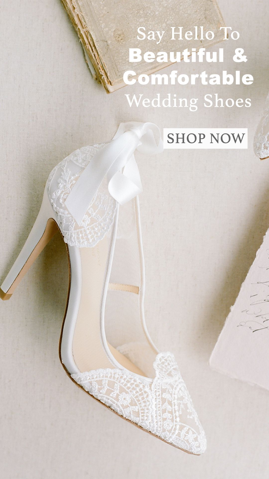 Stunning Comfortable Lace Wedding Shoes In 2020 Wedding Shoes Lace Wedding Shoes Embellished Wedding Shoes