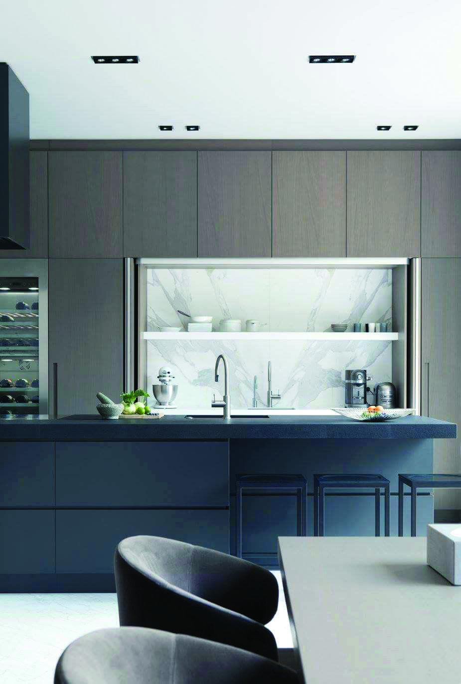 LEADING FAD IN KITCHEN CABINETRY STYLE | Blue Kitchen ...