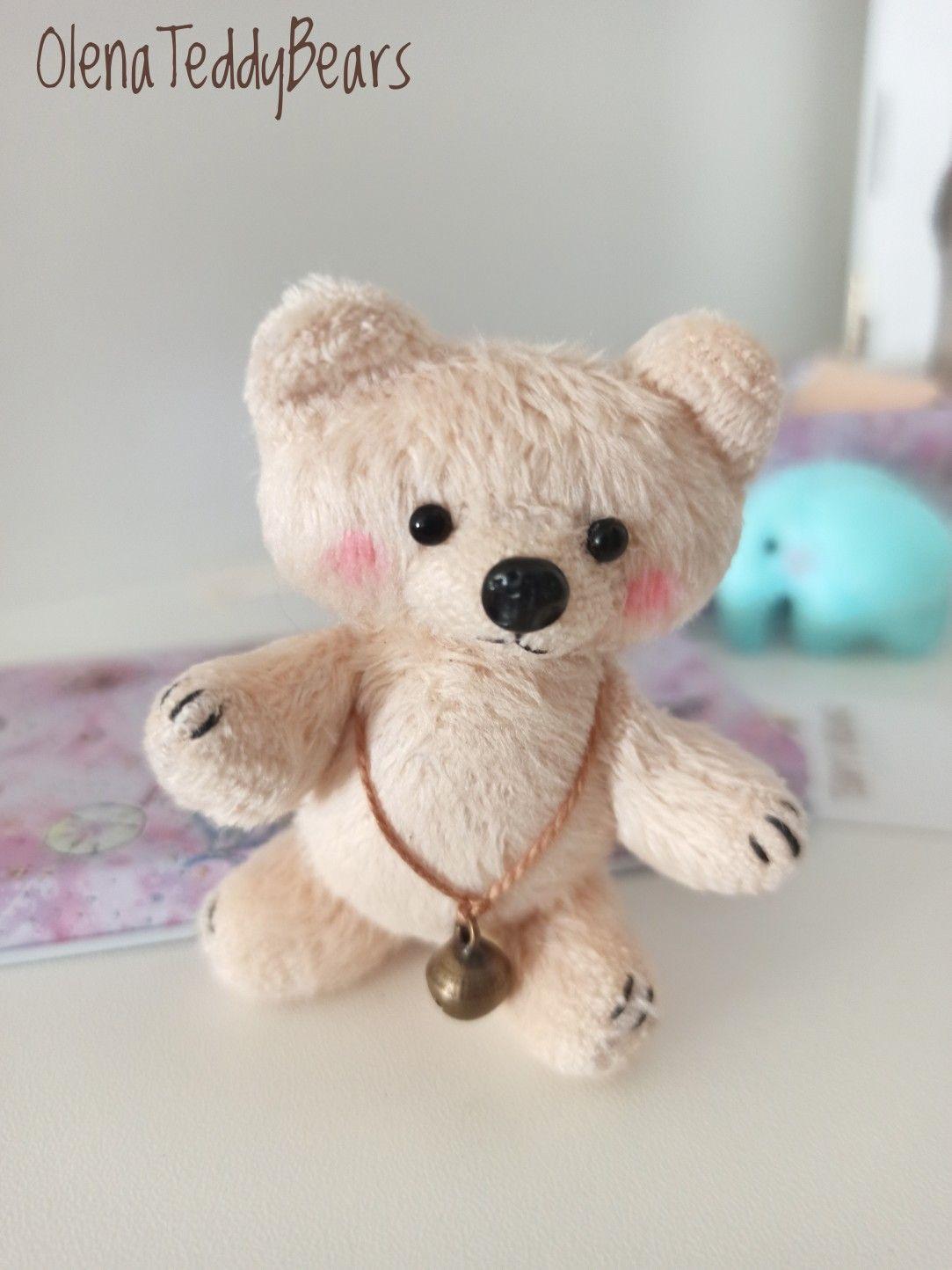 Plush Bear Toy Miniature Plush Small Stuffed Animal Travel Etsy Bear Toy Small Stuffed Animals Bear Plush [ 1444 x 1083 Pixel ]
