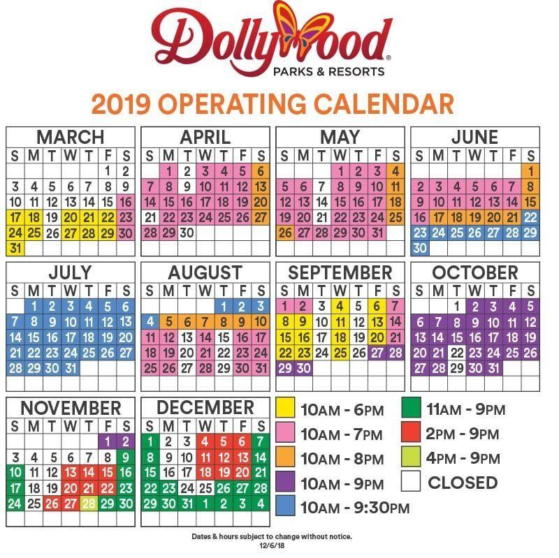 2019 Dollywood calendar | Dollywood, Dollywood christmas