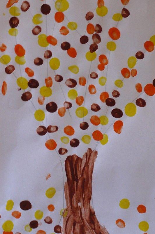 arbre d 39 automne arts plastiques maternelle bricolage automne arbre automne et automne. Black Bedroom Furniture Sets. Home Design Ideas