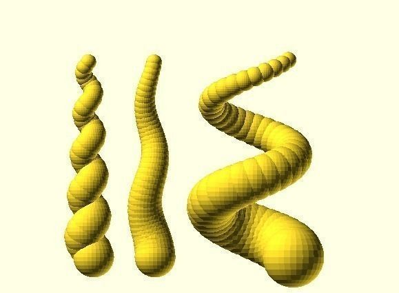 twisted spiral horn generator 3d model stl 1 (mit Bildern)