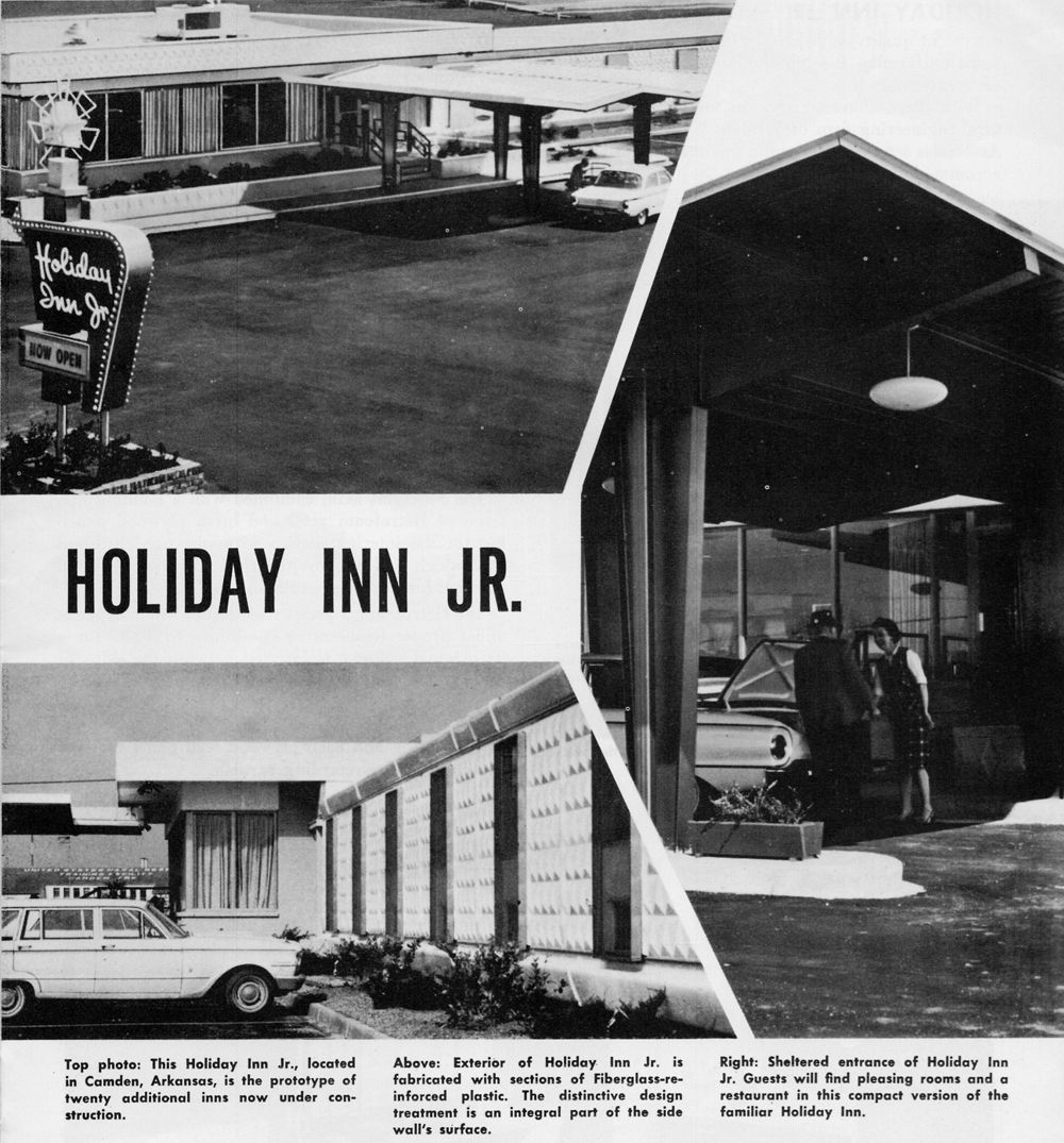 """August 1964, """"Assembly Line"""" Holiday Inn"""