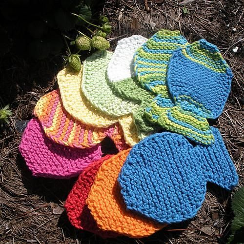 Completed Projects 2011 Dishcloth Fishy Tawashi Knitting