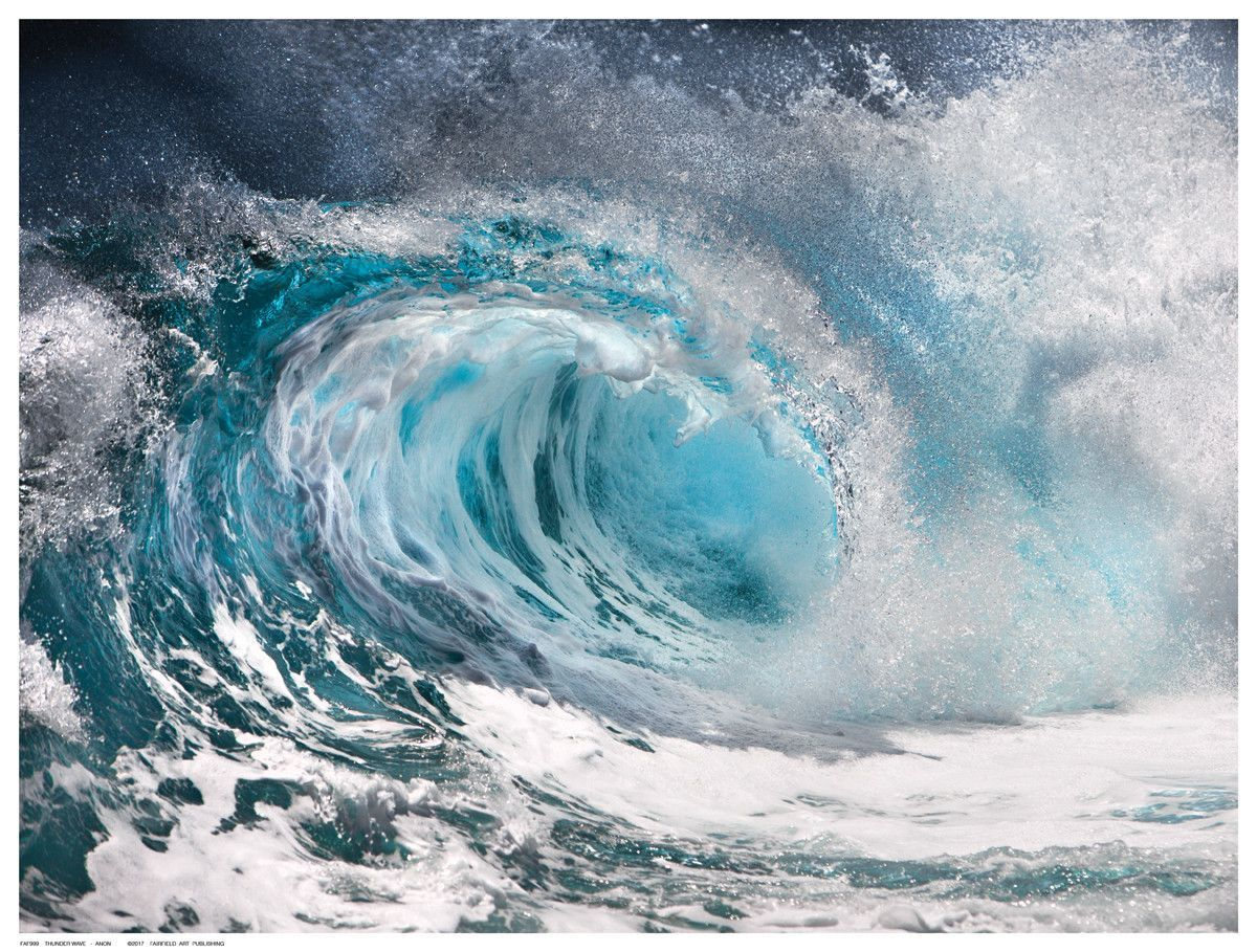 Thunder Wave Ocean Waves Waves Wave Art