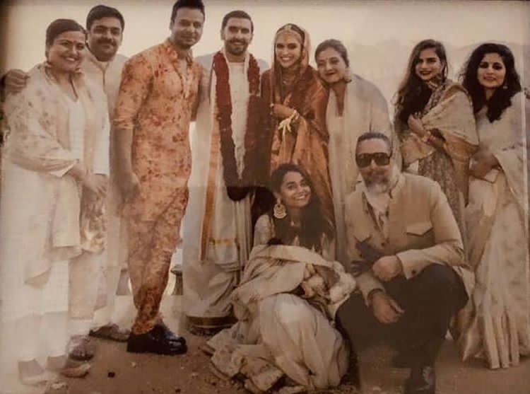 Inside Pictures From The Day When Deepika Padukone And Ranveer Singh Got Hitched Deepika Ranveer Deepika Padukone Ranveer Singh