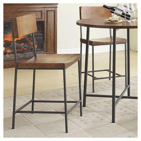Elmsley 24 Quot Counter Stool Metal Chestnut Kitchen Ideas Counter Stools Bar Furniture Bar Stools