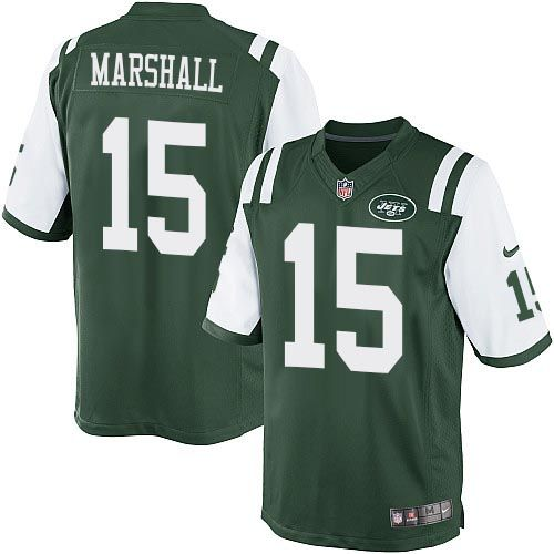 nfl new york jets brandon marshall youth limited green 15 jerseys