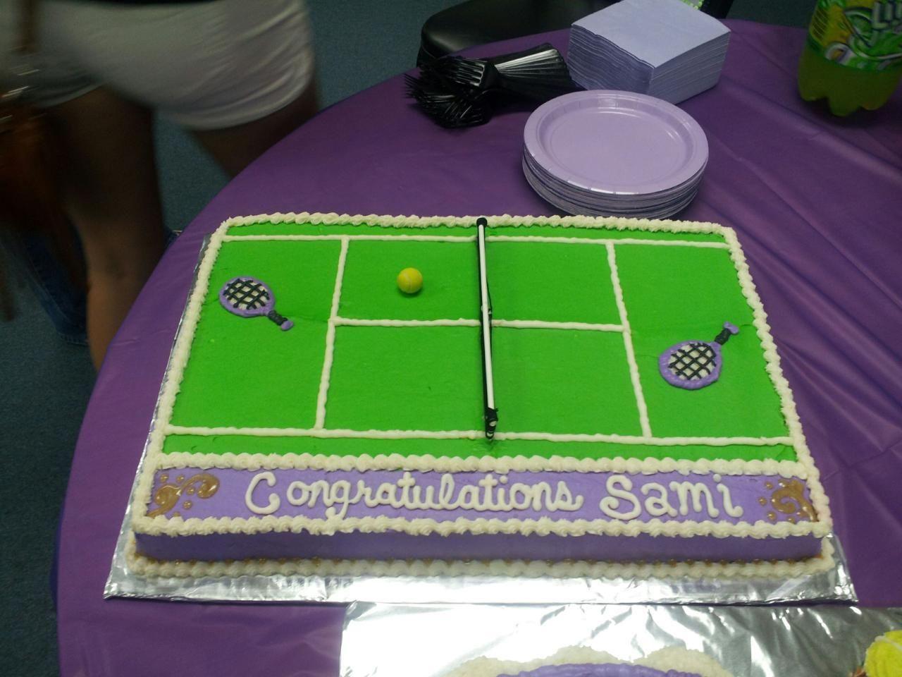 Tennis Ball Birthday Cake A Little Cake Tennis Cake Tennis Birthday Cake