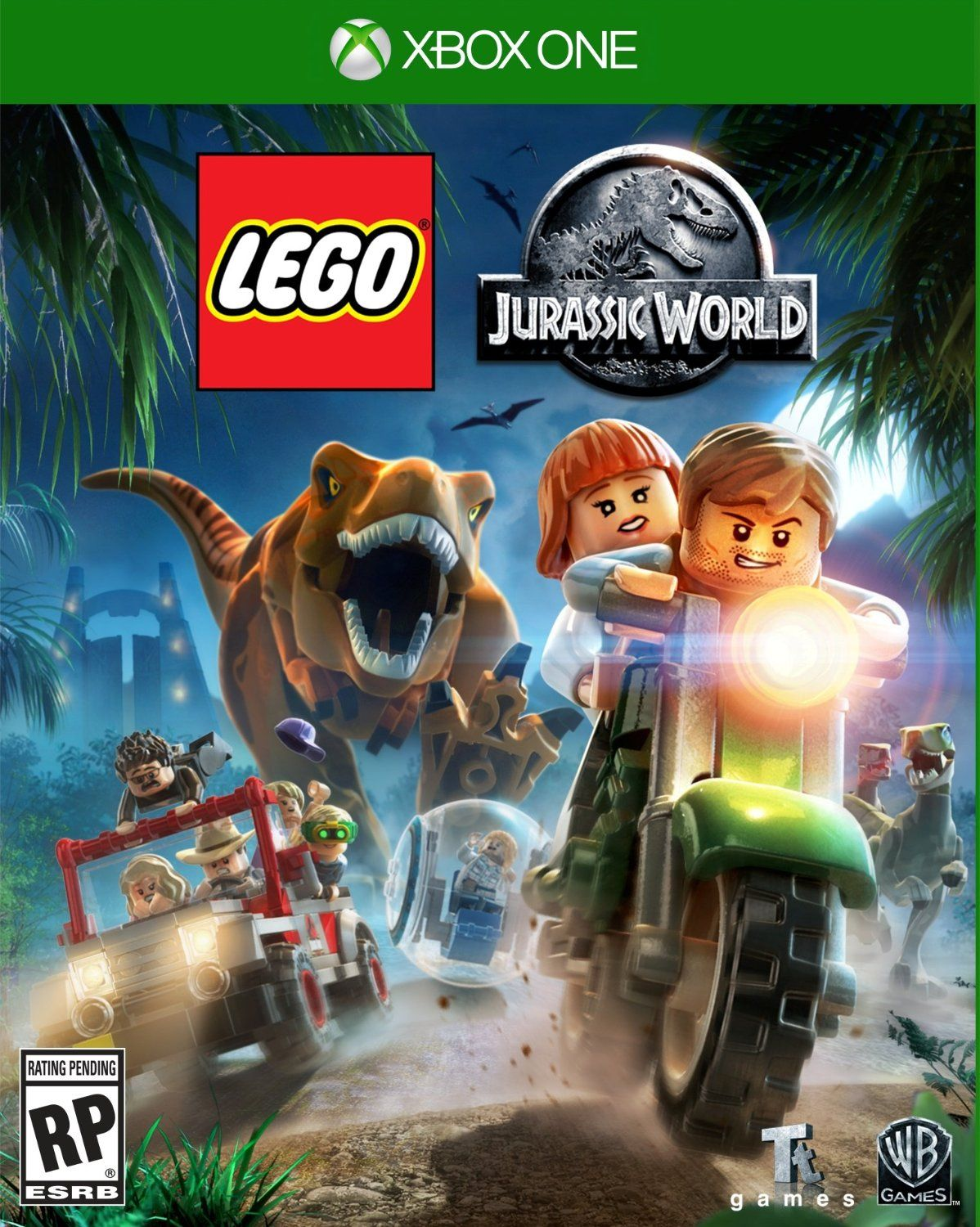 The New Lego Jurassic World Video Game For Xbox One And Also 360