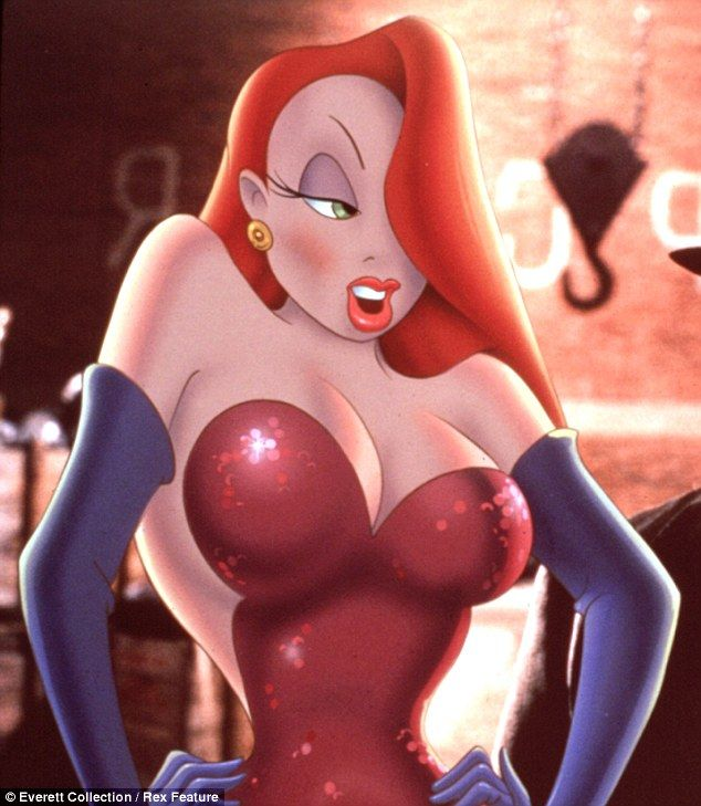 dress up jessica rabbit nude - Spot the difference: Amber seemed to be channeling carton sex siren Jessica  Rabbit
