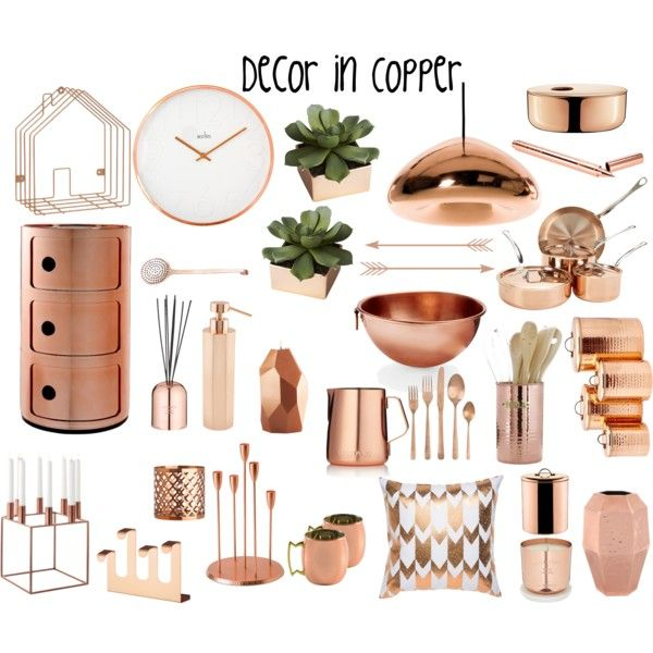 decor in copper