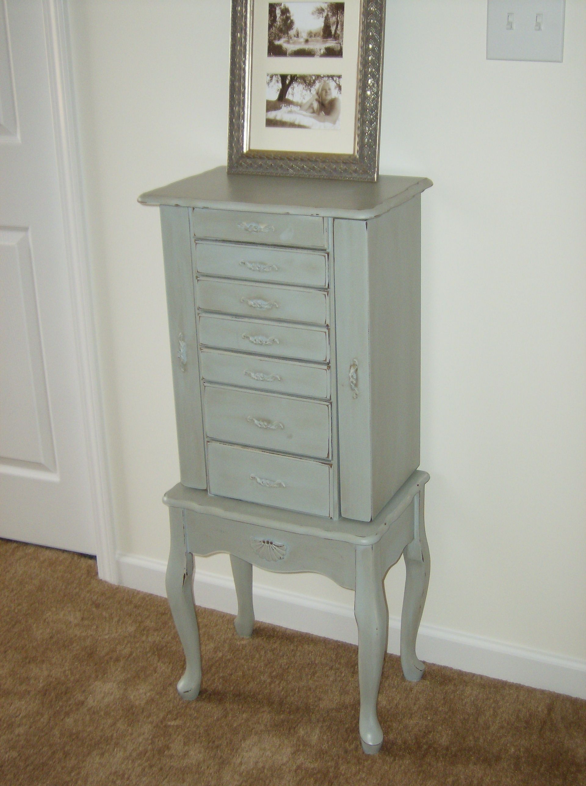 But Armoir Re Doing My Jewelry Armoire To Be Similar To This But Maybe A