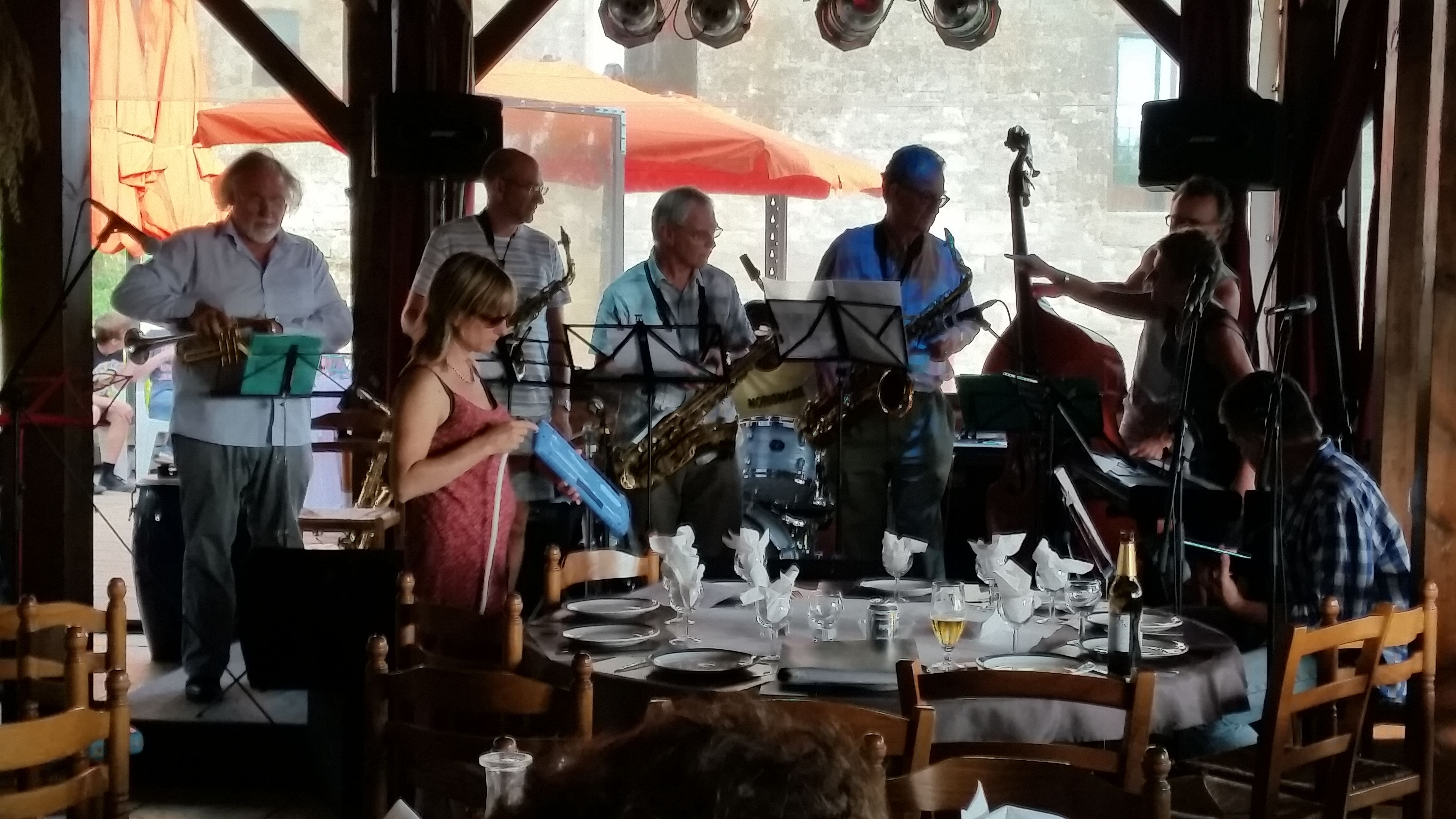 Study the art of jazz music in the stunning setting of a mediaeval Chateau deep in rural  France. Learn #Jazz #Swing #Blues #Funk #Soul #BeBop #Singing @Dordogne Jazz Summer School July 25 - Aug 8 @ #ChateaudeMonteton SWFrance http://www.jazzschool-dordogne.co.uk