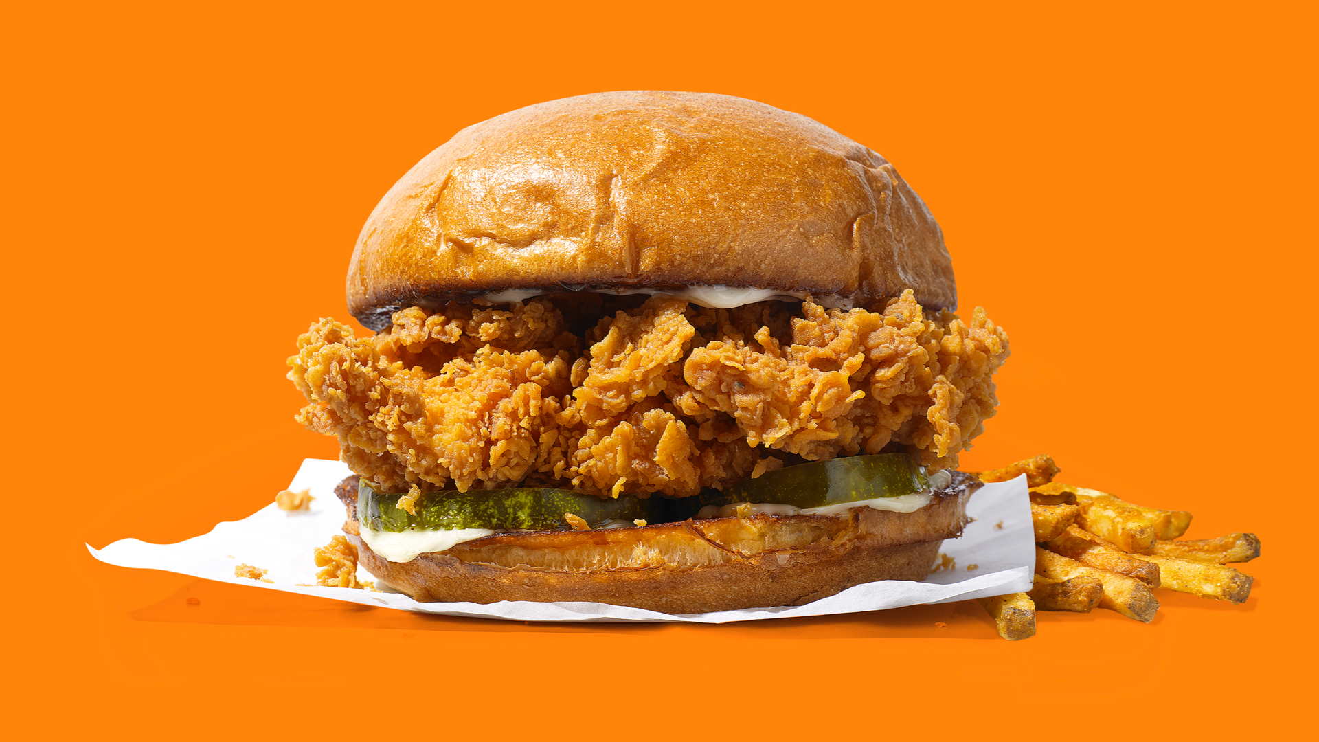 Here S How To Score A Free Popeye S Chicken Sandwich Popeyes Chicken Chicken Sandwich Spicy Chicken Sandwiches
