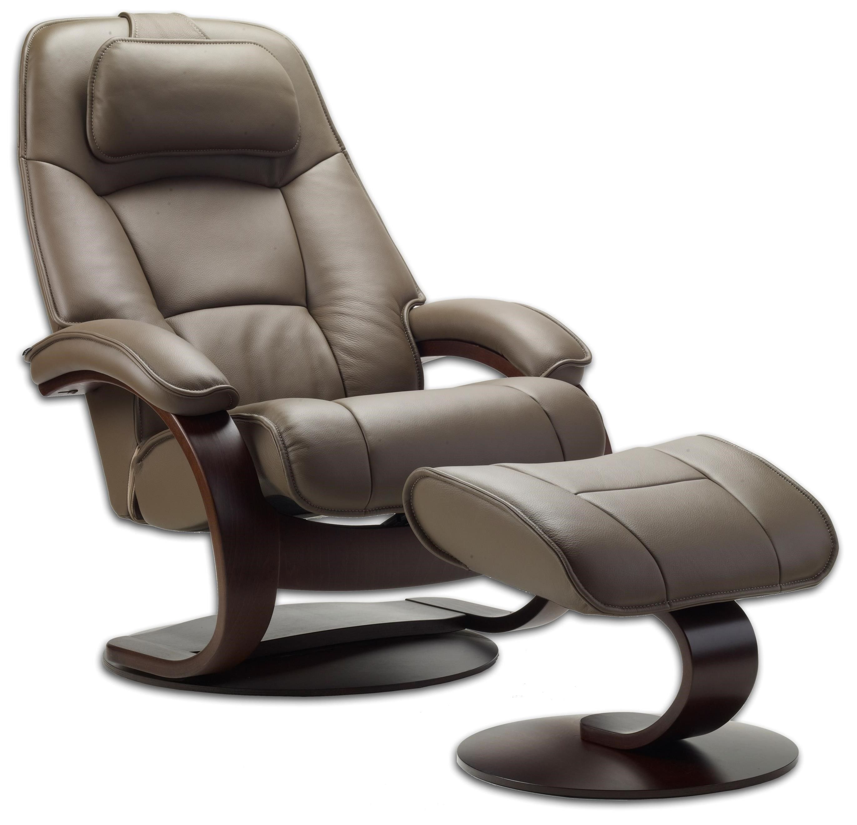 Eve Leather Recliner with Ottoman Furniture Macy's