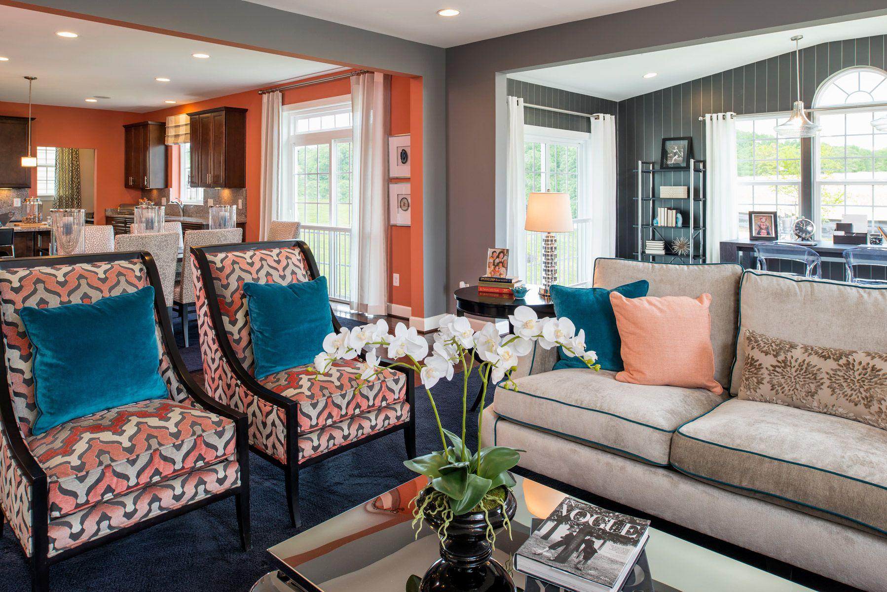 The Chatham at Marlboro Riding Living room designs, Home