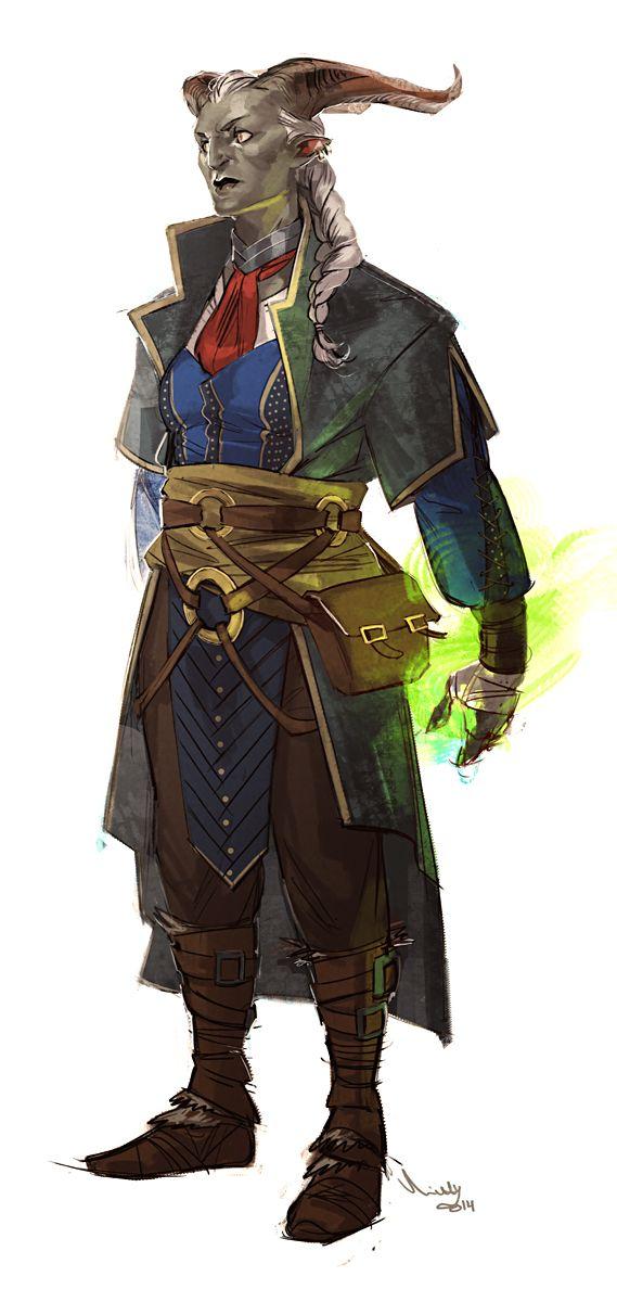 inquisitor adaar by theminttu tiefling wizard warlock