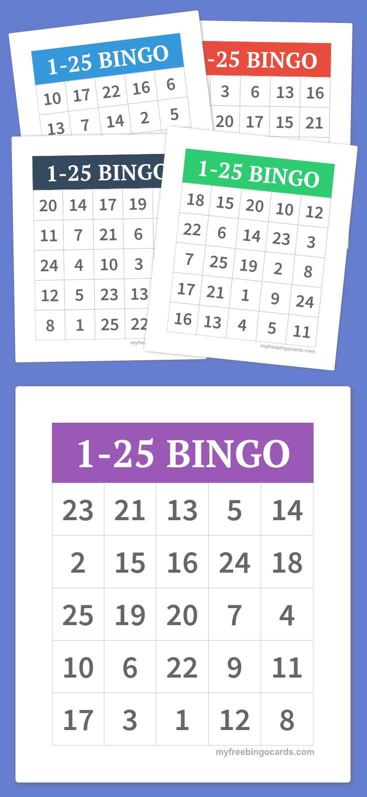 Make Your Own Free Bingo Cards At Myfreebingocards Com Free Printable Bingo Cards Bingo Cards Printable Bingo Cards