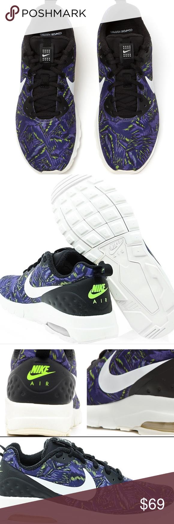 nwob women s nike air max motion lw print sneaker nike air max