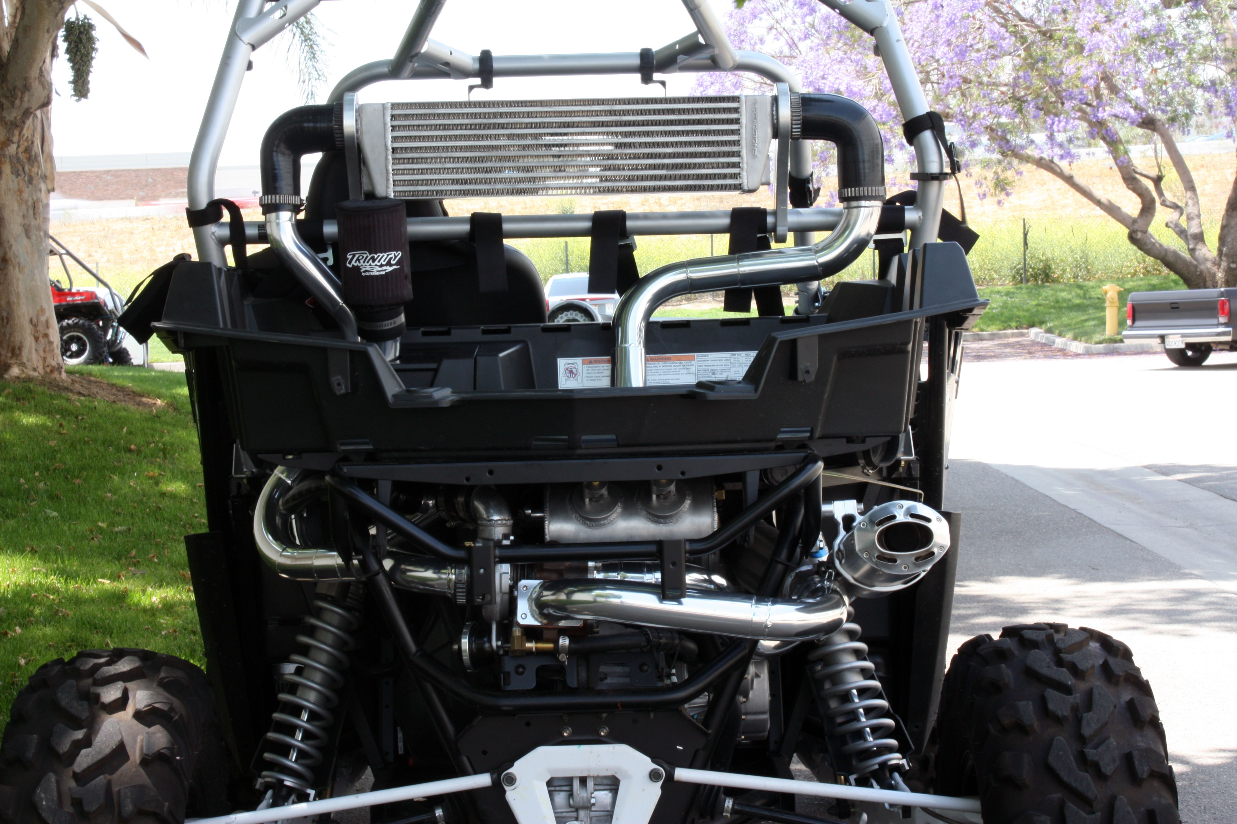 Trinity Turbo Kit RZR XP 900 10PSI with no vehicle body