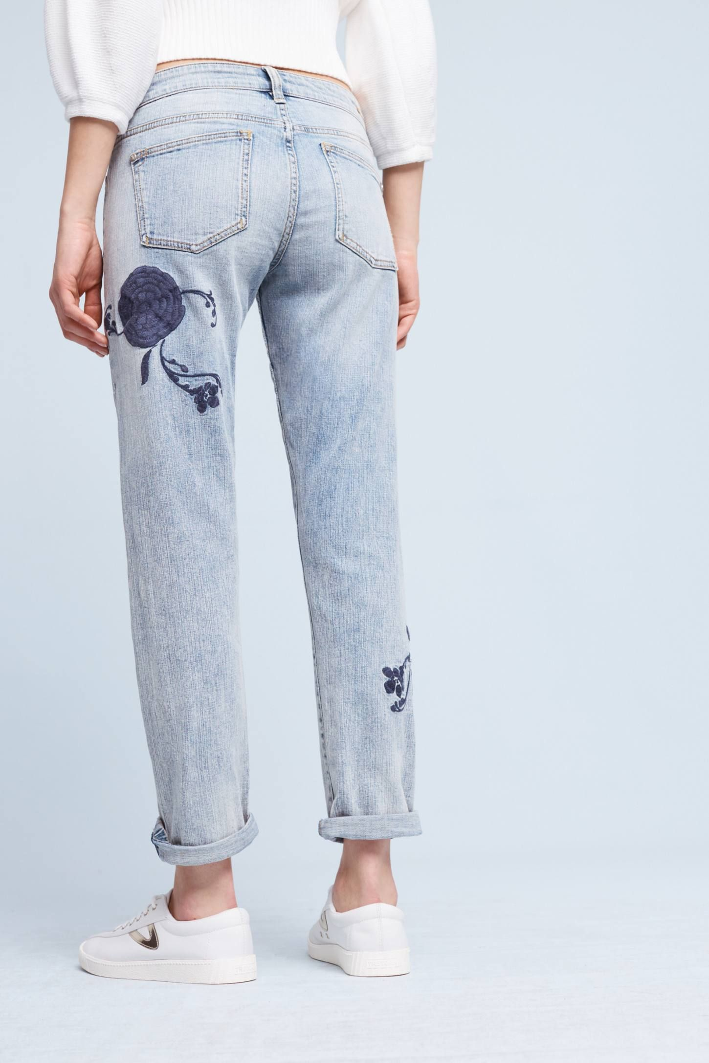 Womens Chambray Crop Trousers Dash Cheap 2018 Big Discount Cheap Online Best Store To Get Cheap Authentic Amazing Price Cheap Online yK35myg8C