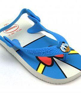b4fbc0c97ba1 Havaianas Baby Disney Classic Donald Duck White Blue