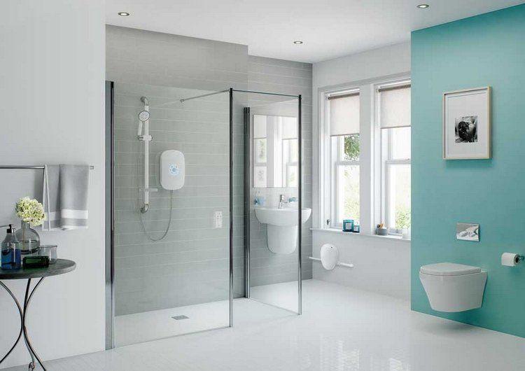 Salle de bains design avec douche italienne photos conseils House - salle de bain moderne avec douche italienne