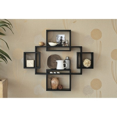 5pc Interlocking Shelf Set Black Threshold Adult Unisex